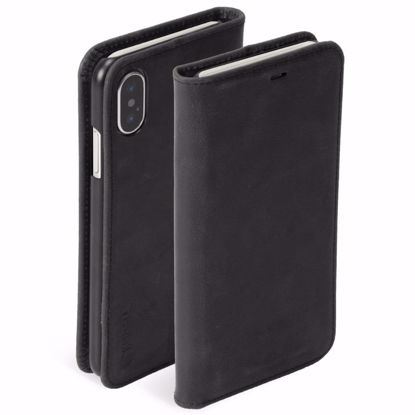 Picture of Krusell Krusell Sunne 4 Card Folio Case for Apple iPhone XS/X Max in Black