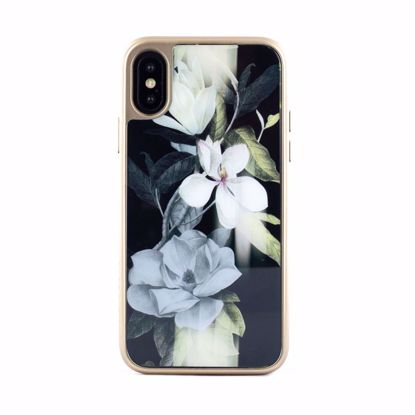Picture of Ted Baker Ted Baker HD Glass Case for Apple iPhone XS/X in Opal