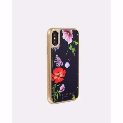 Picture of Ted Baker Ted Baker Patryce HD Glass Case for Apple iPhone XS/X in Hedgerow