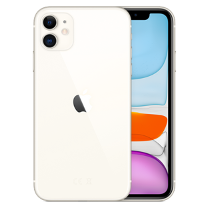 Picture of Apple iPhone 11 256GB White (MHDQ3B)