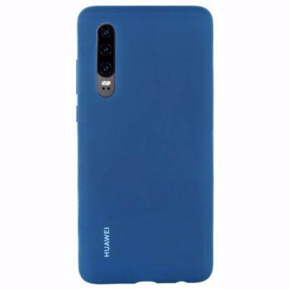 Picture of Huawei Huawei Silicone Protective Cover Case for Huawei P30 in Blue